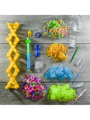Подарочный набор резинок для плетения. 2500 Loom Bands. Цвет: прозрачный