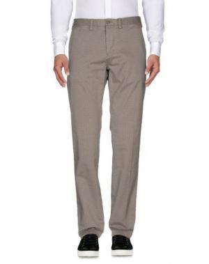 Повседневные брюки ERIC HATTON. Цвет: серый