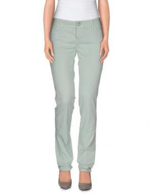Повседневные брюки E-GÓ. Цвет: светло-зеленый