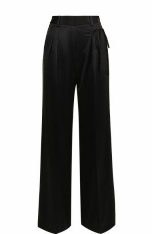 Широкие брюки с карманами и стрелками T by Alexander Wang. Цвет: черный