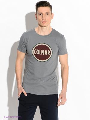 Футболка Colmar. Цвет: серый
