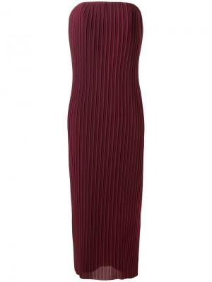 Платье Carina Solace. Цвет: красный