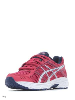 Кроссовки GEL-CONTEND 4 GS ASICS. Цвет: розовый, белый, индиго