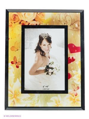 Фоторамка Wedding VELD-CO. Цвет: желтый, красный
