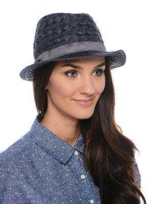 Шляпа SEEBERGER. Цвет: темно-синий