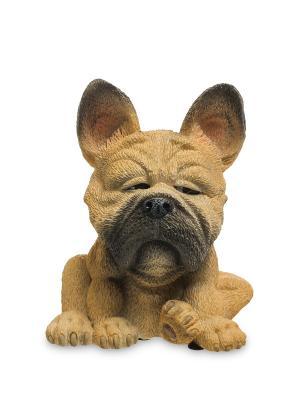 Фигурка Собака Французский бульдог The Comical World of Stratford. Цвет: бежевый, коричневый