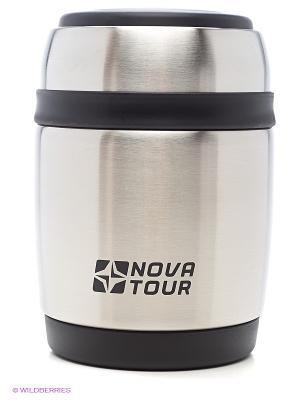 Термос из нержавеющей стали  Ланч 380 Nova tour. Цвет: белый
