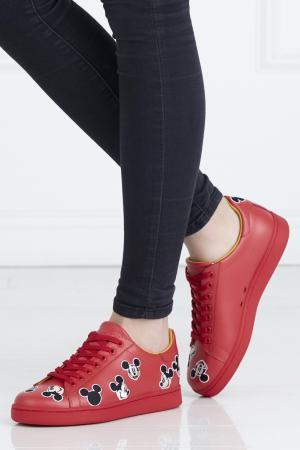 Кеды с вышивкой Moa. Цвет: красный