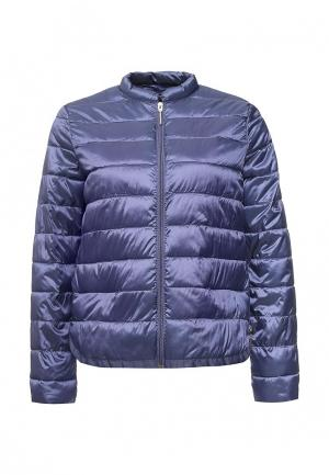 Куртка утепленная Love Republic. Цвет: синий