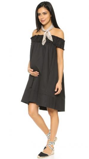 Платье Audrey HATCH. Цвет: голубой