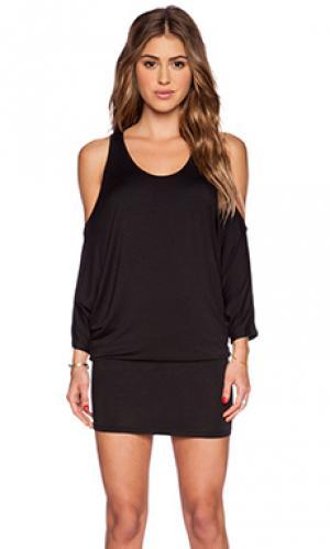 Платье holland sen. Цвет: черный