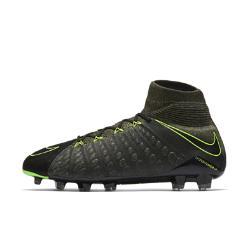 Футбольные бутсы для игры на твердом грунте  Hypervenom Phantom 3 DF Tech Craft FG Nike. Цвет: черный