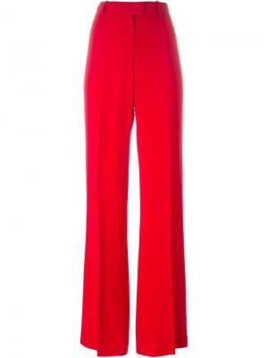 Широкие брюки Issa. Цвет: красный