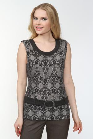 Блузка Frank Lyman Design. Цвет: серый