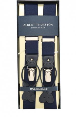 Подтяжки Albert Thurston. Цвет: синий