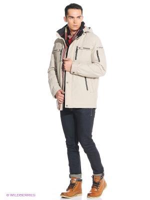 Куртка VIZANI. Цвет: бежевый