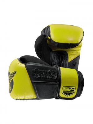 Перчатки боксерские Hayabusa Tokushu Regenesis 12oz Gloves Black / Yellow. Цвет: черный,желтый