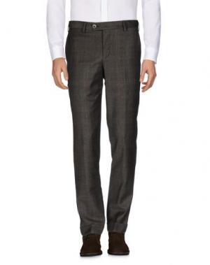 Повседневные брюки HARRY & SONS. Цвет: темно-коричневый