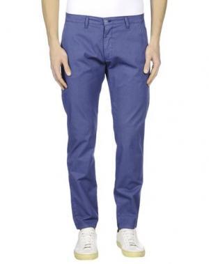 Повседневные брюки EXCLUSIVE. Цвет: грифельно-синий