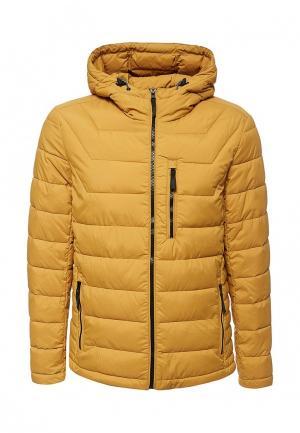 Куртка утепленная Time For Future. Цвет: желтый