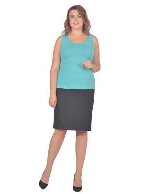 Топ Томилочка Мода ТМ. Цвет: бирюзовый, светло-зеленый