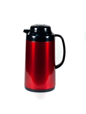 Термос метал. 1,0л. со стеклянной колбой Красный Tiger corporation. Цвет: красный