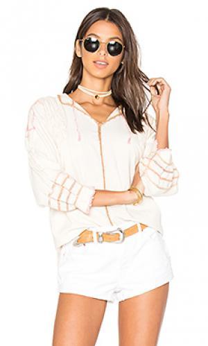 Блуза с вышивкой крошё oaxaca Carolina K. Цвет: белый