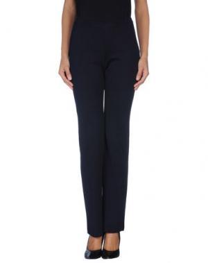 Повседневные брюки CHARLOTT. Цвет: темно-синий