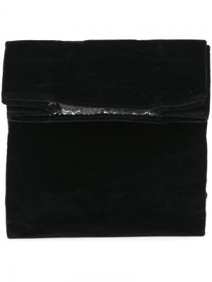 Клатч Lunch среднего размера Zilla. Цвет: чёрный