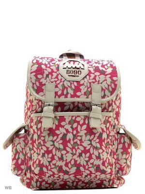Рюкзак Punta. Цвет: розовый, кремовый