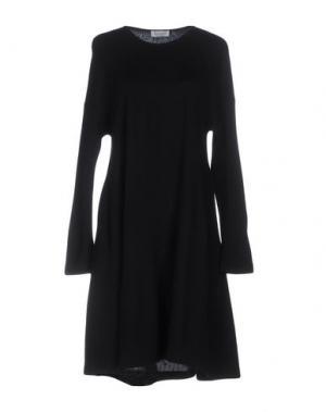 Короткое платье BARBON. Цвет: черный