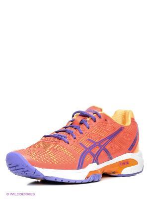 Теннисные кроссовки GEL-SOLUTION SPEED 2 ASICS. Цвет: оранжевый