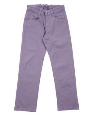 Джинсовые брюки SIVIGLIA. Цвет: розовато-лиловый