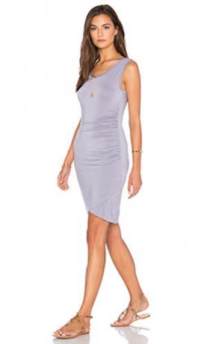 Платье shony Velvet by Graham & Spencer. Цвет: фиолетовый