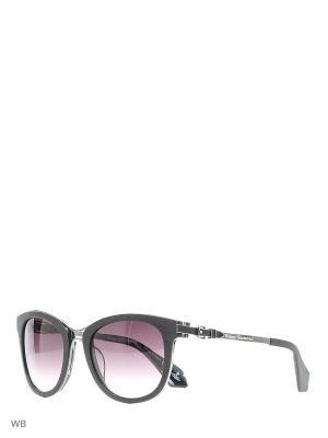 Солнцезащитные очки VW 913S 02 Vivienne Westwood. Цвет: черный, серебристый