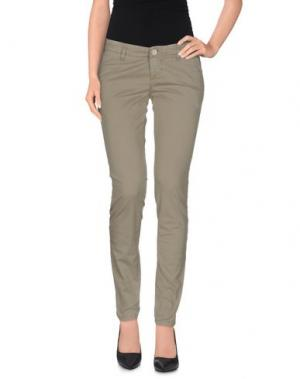 Повседневные брюки FIFTY FOUR. Цвет: зеленый-милитари