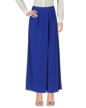 Повседневные брюки PEACOCK BLUE. Цвет: ярко-синий