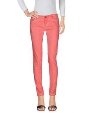 Джинсовые брюки SCOUT. Цвет: коралловый