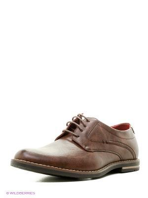 Туфли Tesoro. Цвет: темно-коричневый