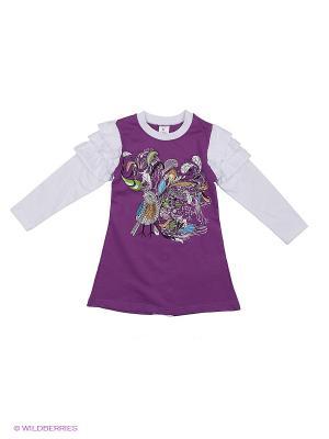 Платье PEPELINO. Цвет: фиолетовый