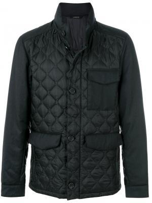 Куртка из технической ткани Ermenegildo Zegna. Цвет: чёрный