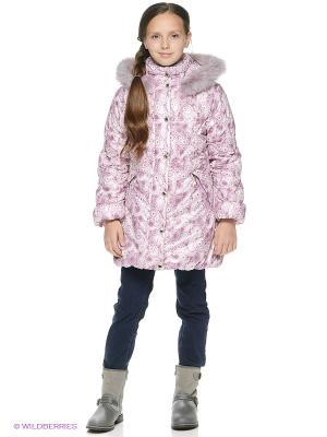 Пальто SAIMA. Цвет: лиловый