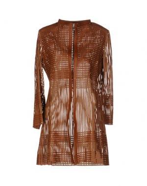 Легкое пальто CABAN ROMANTIC. Цвет: коричневый