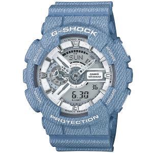 Электронные часы  Ga-110Dc-2A7 Light Blue Casio G-Shock. Цвет: голубой