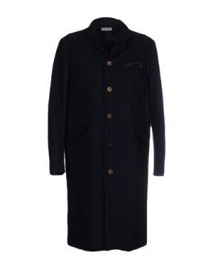 Пальто OPENING CEREMONY. Цвет: темно-синий