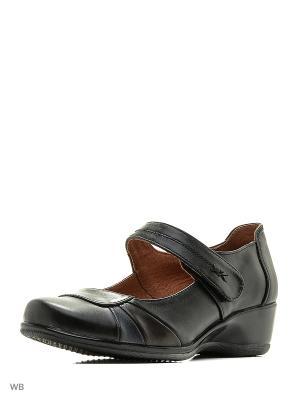 Туфли Walrus. Цвет: черный, синий, коричневый