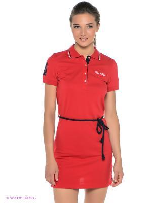 Платье RED-N-ROCK'S. Цвет: красный