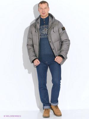 Куртка SELA. Цвет: серый