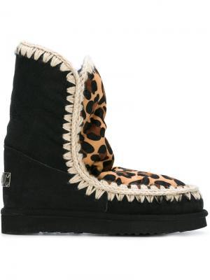 Ботинки Leopard Eskimo Mou. Цвет: чёрный