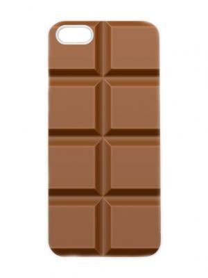 Чехол для iPhone 5/5s Шоколад Chocopony. Цвет: темно-коричневый